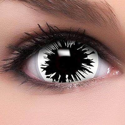 f76e9a88a01c6 FUNZERA® Mini Sclera Lentillas de Colores Shot + recipiente para lentes de  contacto