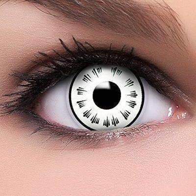 d54ddb3c767af FUNZERA® Sharingan  Lentillas de Colores Byakugan + recipiente para lentes  de contacto