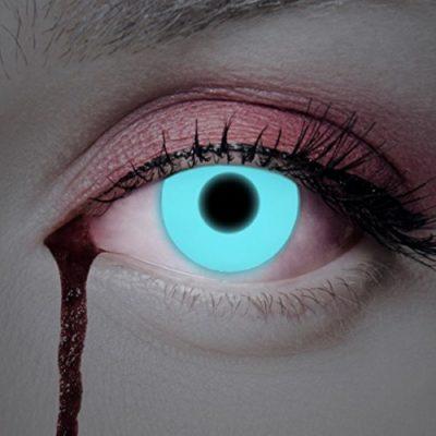 939d805384093 UV Lentes de contacto coloreadas Deep Blue de Aricona – que cubren las  lentes años para los ojos oscuros y claros